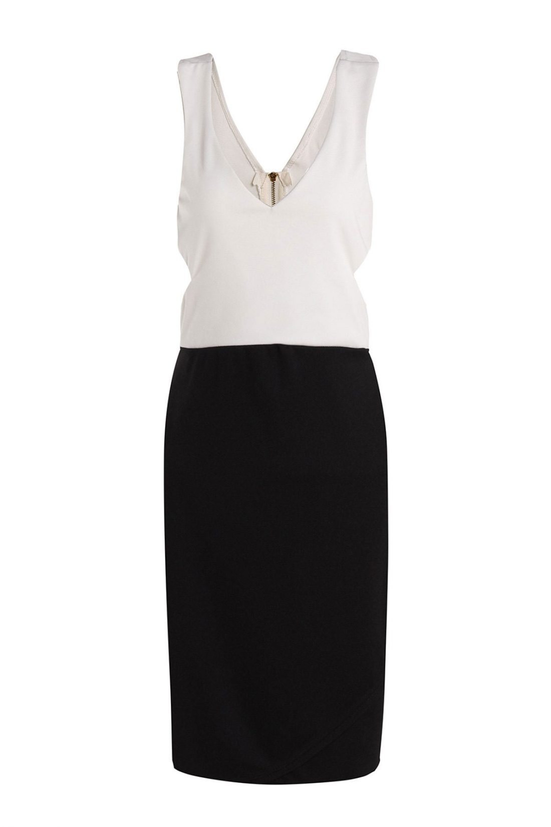 M0157 blackwhite1 Office Evening Dresses maureens.com boutique