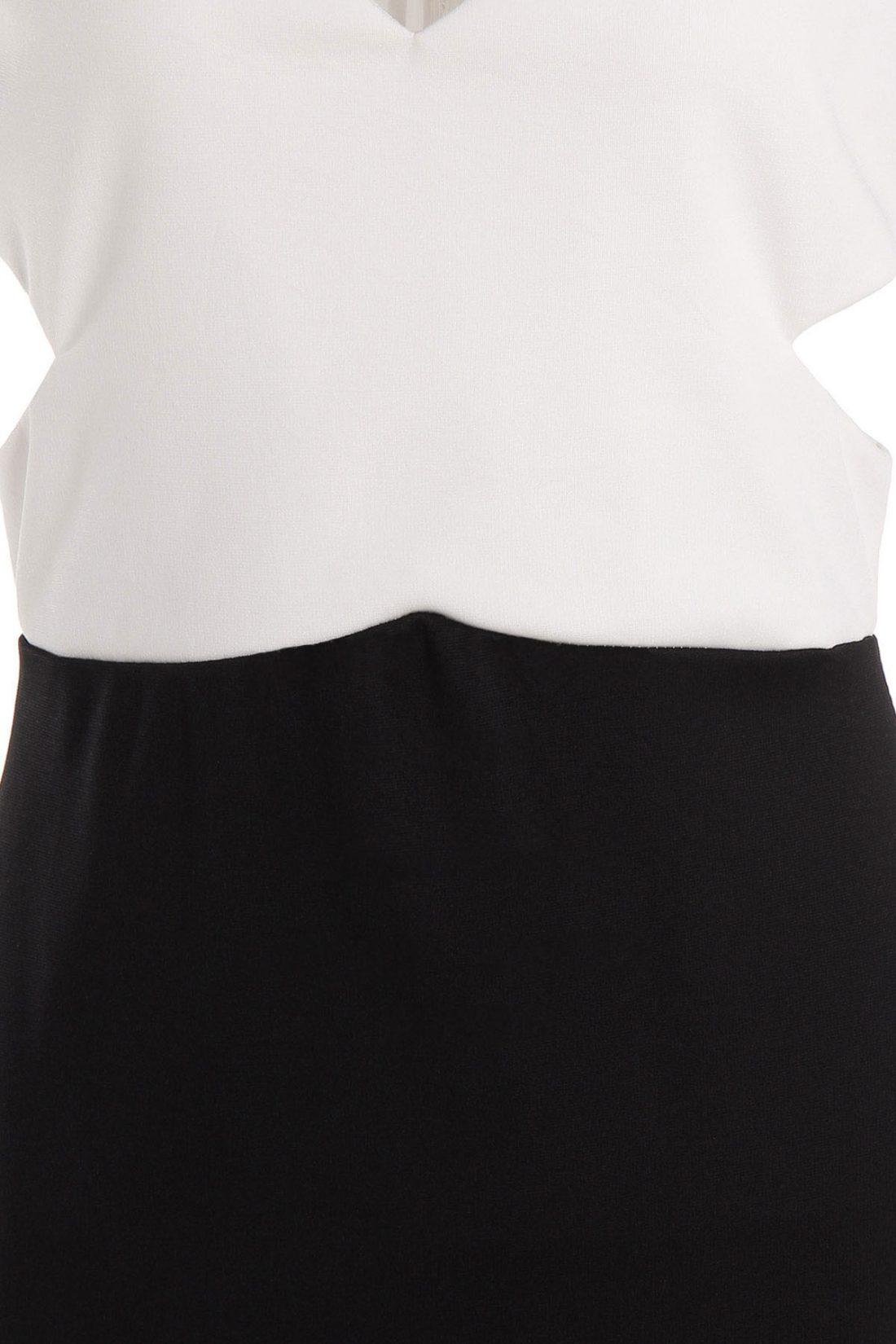 M0157 blackwhite3 Office Evening Dresses maureens.com boutique