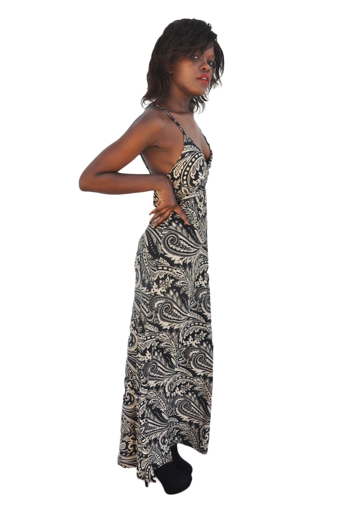 M0163 black3 Leisure Dresses maureens.com boutique