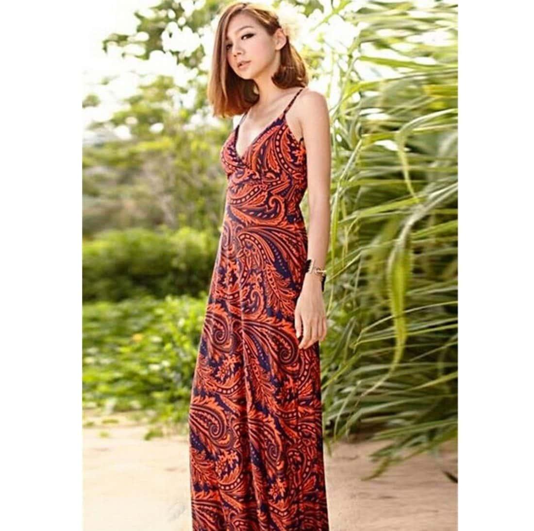 M0163 red1 Leisure Dresses maureens.com boutique