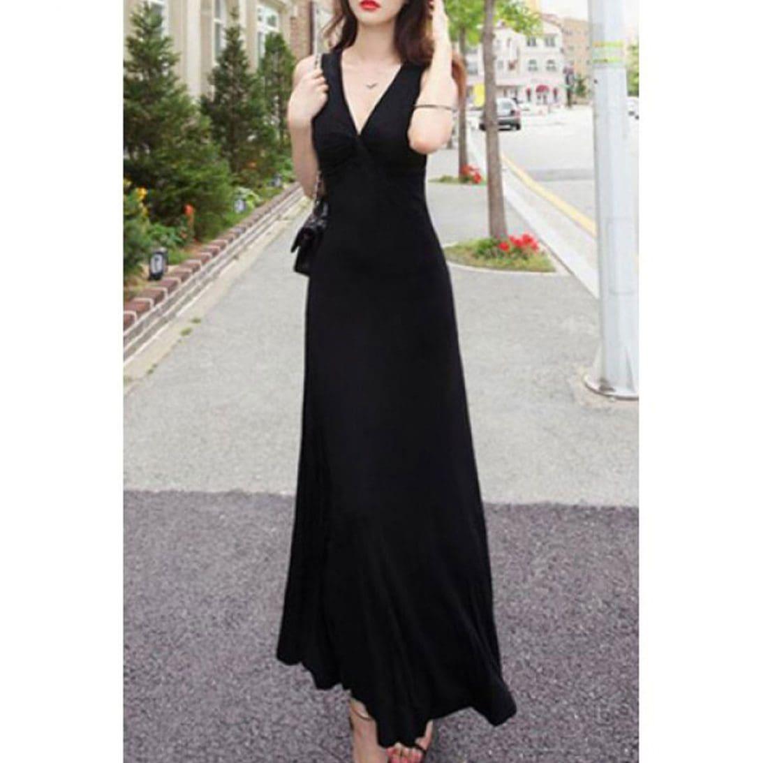 M0164 black1 Maxi Dresses maureens.com boutique