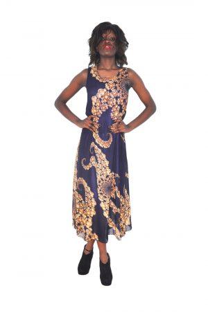 M0167 blue1 Maxi Dresses maureens.com boutique