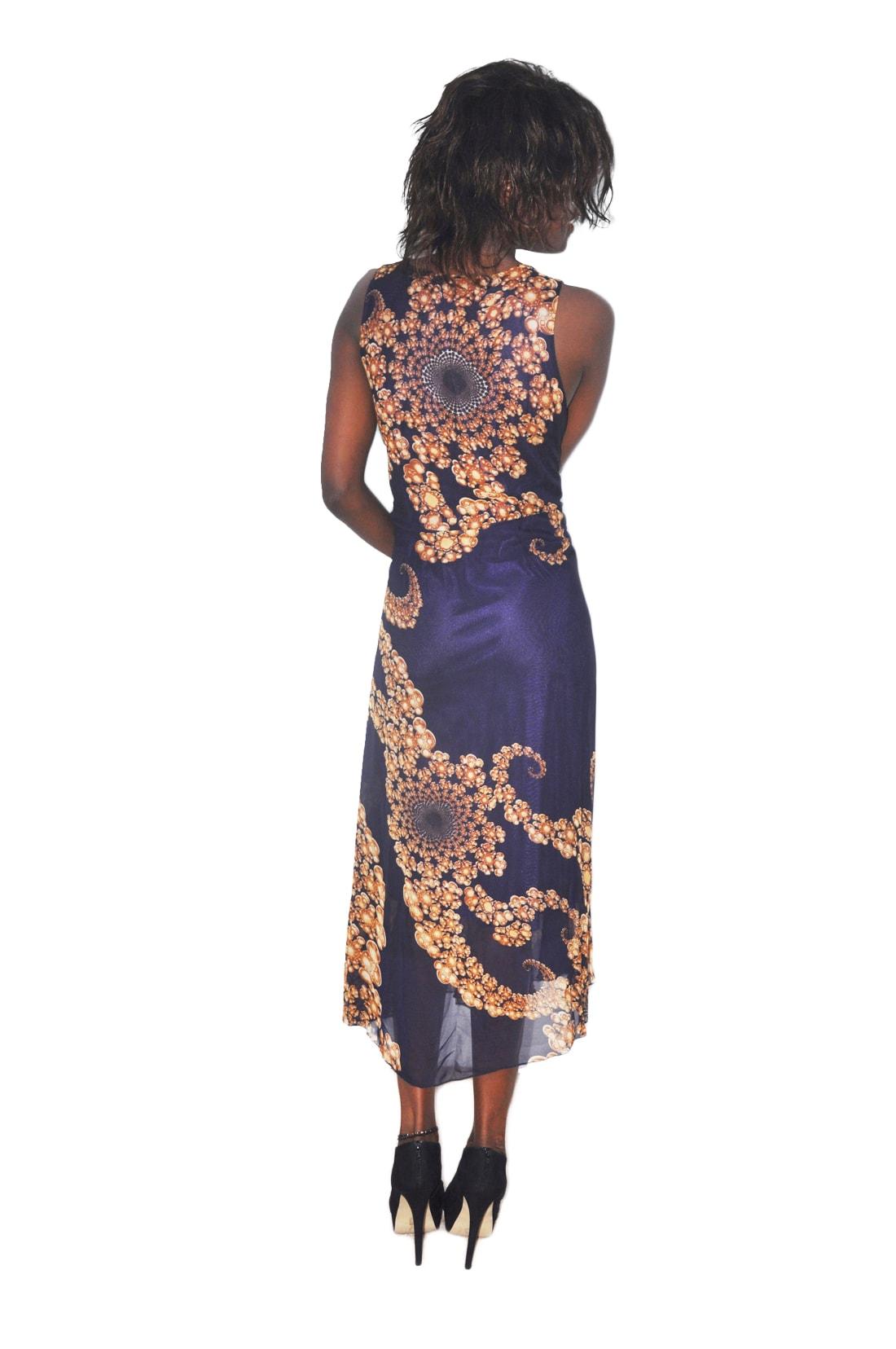 M0167 blue3 Maxi Dresses maureens.com boutique