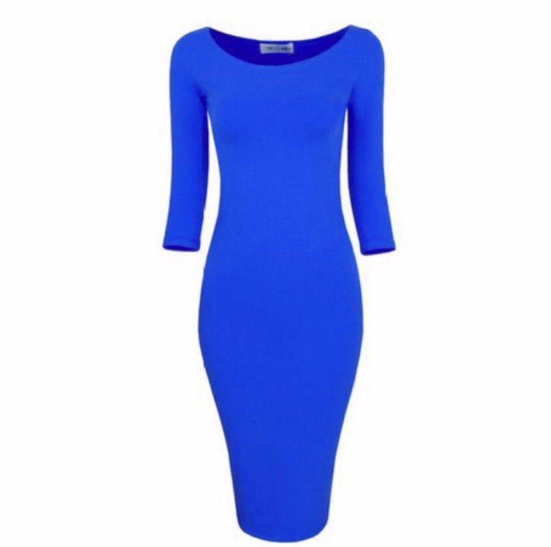 M0172 blue1 Bodycon Dresses maureens.com boutique