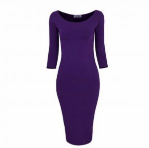 M0172 purple1 Long Sleeve Dresses maureens.com boutique