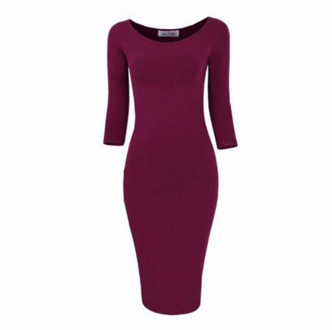 M0172 red1 Long Sleeve Dresses maureens.com boutique