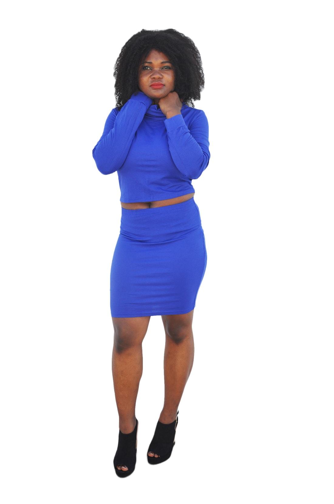 M0181 blue1 Two Piece Sets Dresses maureens.com boutique