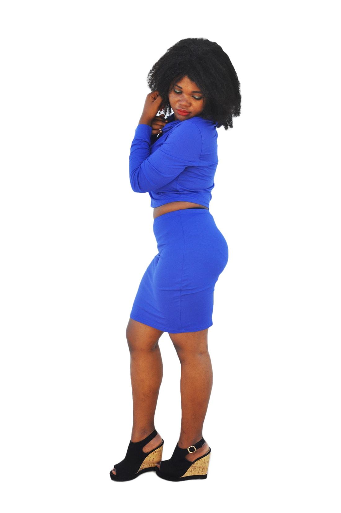 M0181 blue2 Two Piece Sets Dresses maureens.com boutique