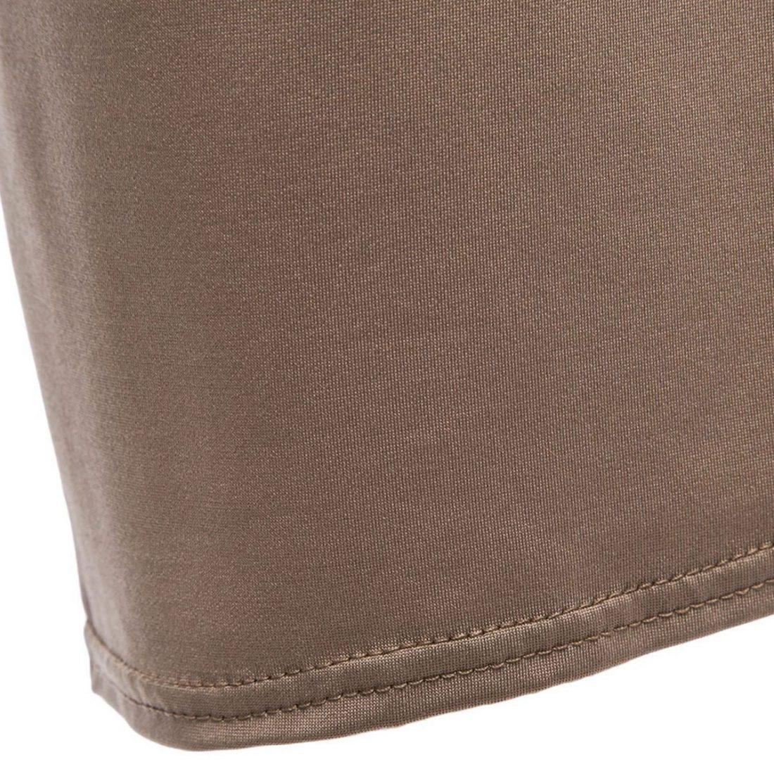 M0182 khaki7 Side Split Skirts maureens.com boutique