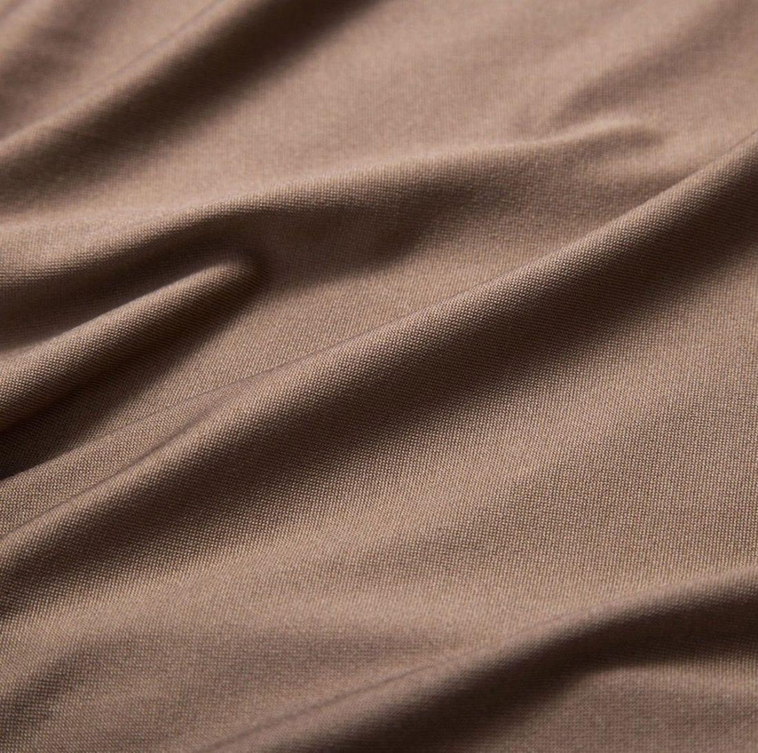 M0182 khaki8 Side Split Skirts maureens.com boutique