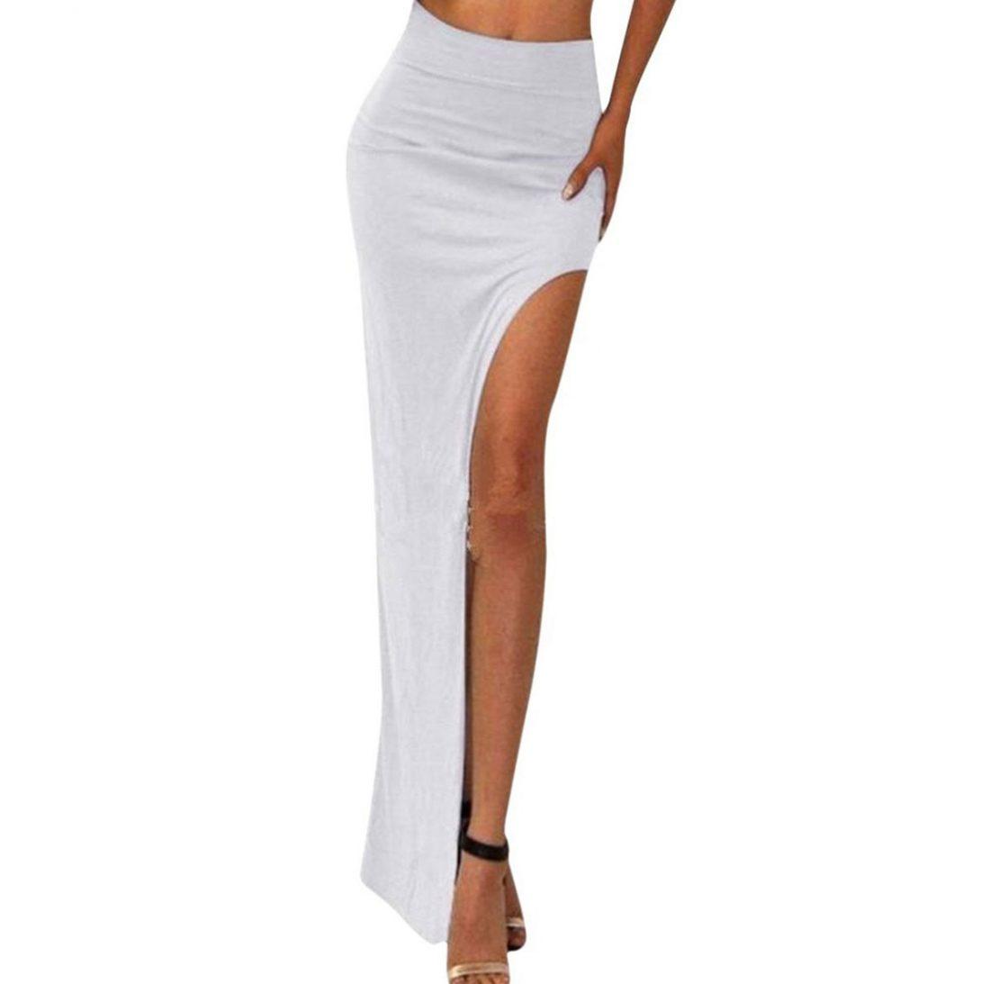 M0182 white1 Maxi Skirts maureens.com boutique