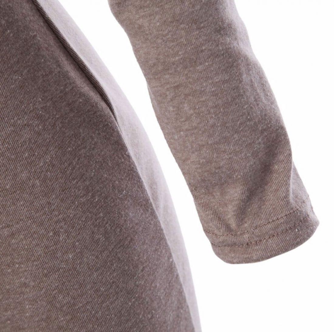 M0183 gray6 Long Sleeve Dresses maureens.com boutique