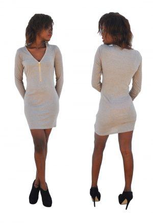 M0183 gray8 Long Sleeve Dresses maureens.com boutique