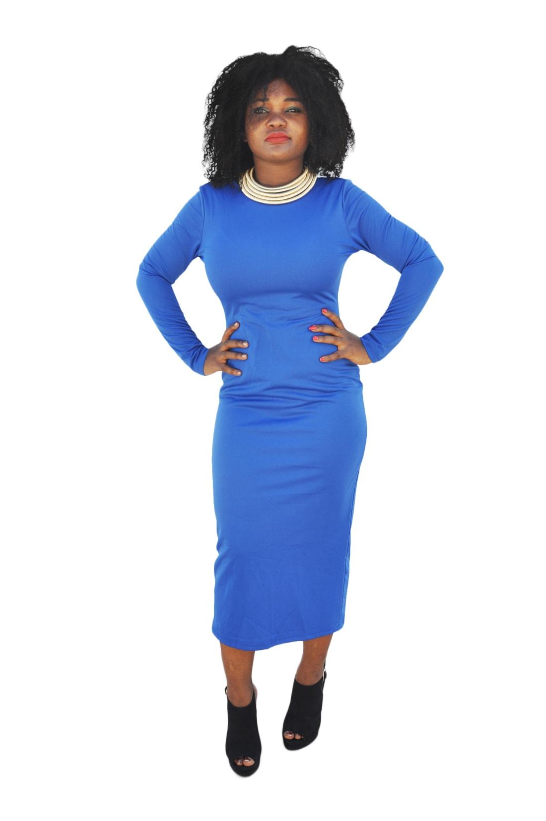M0185 blue15 Office Evening Dresses maureens.com boutique