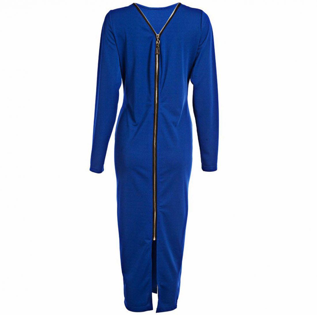 M0185 blue8 Office Evening Dresses maureens.com boutique