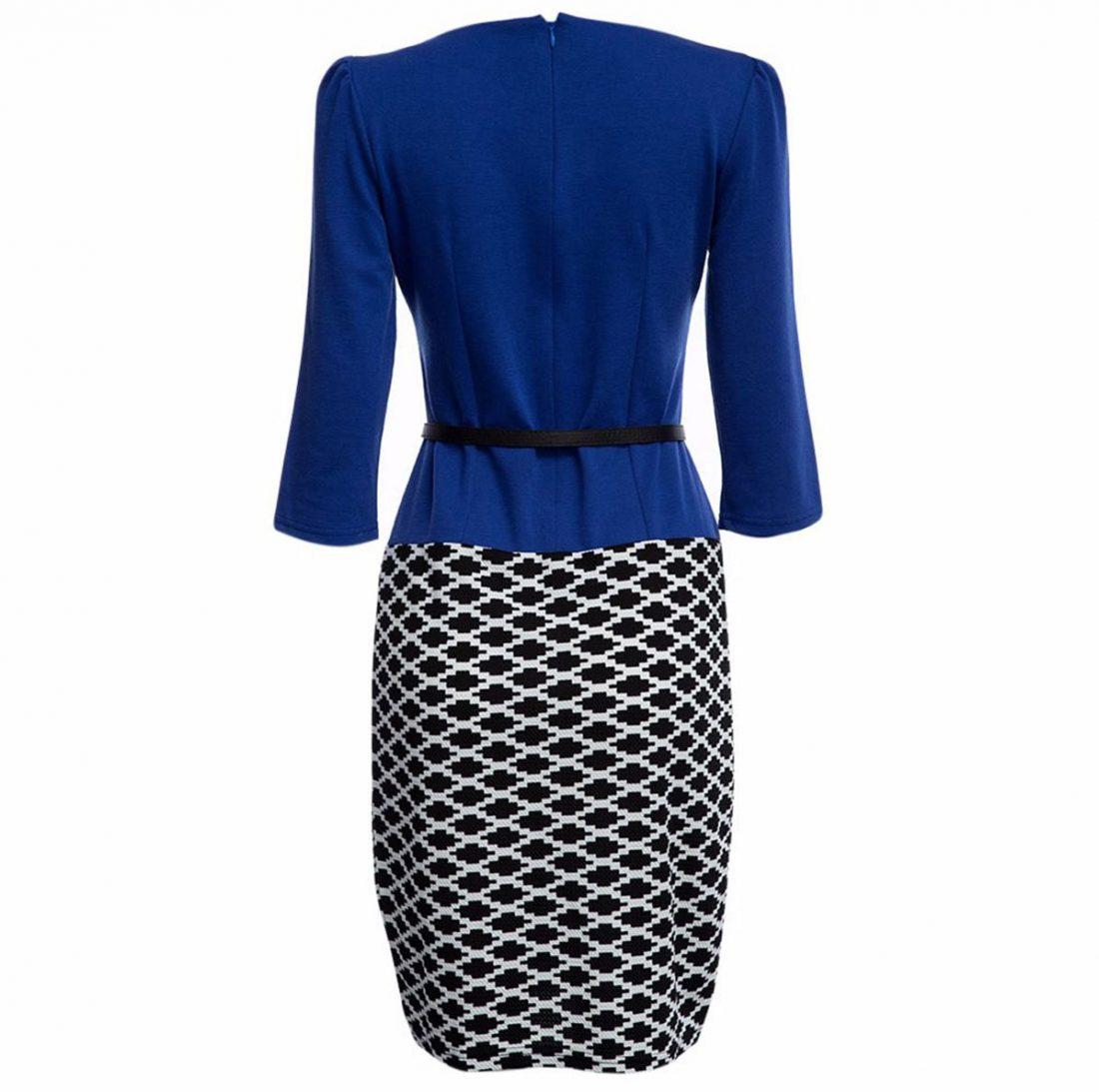 M0187 blueblack2 Office Evening Dresses maureens.com boutique