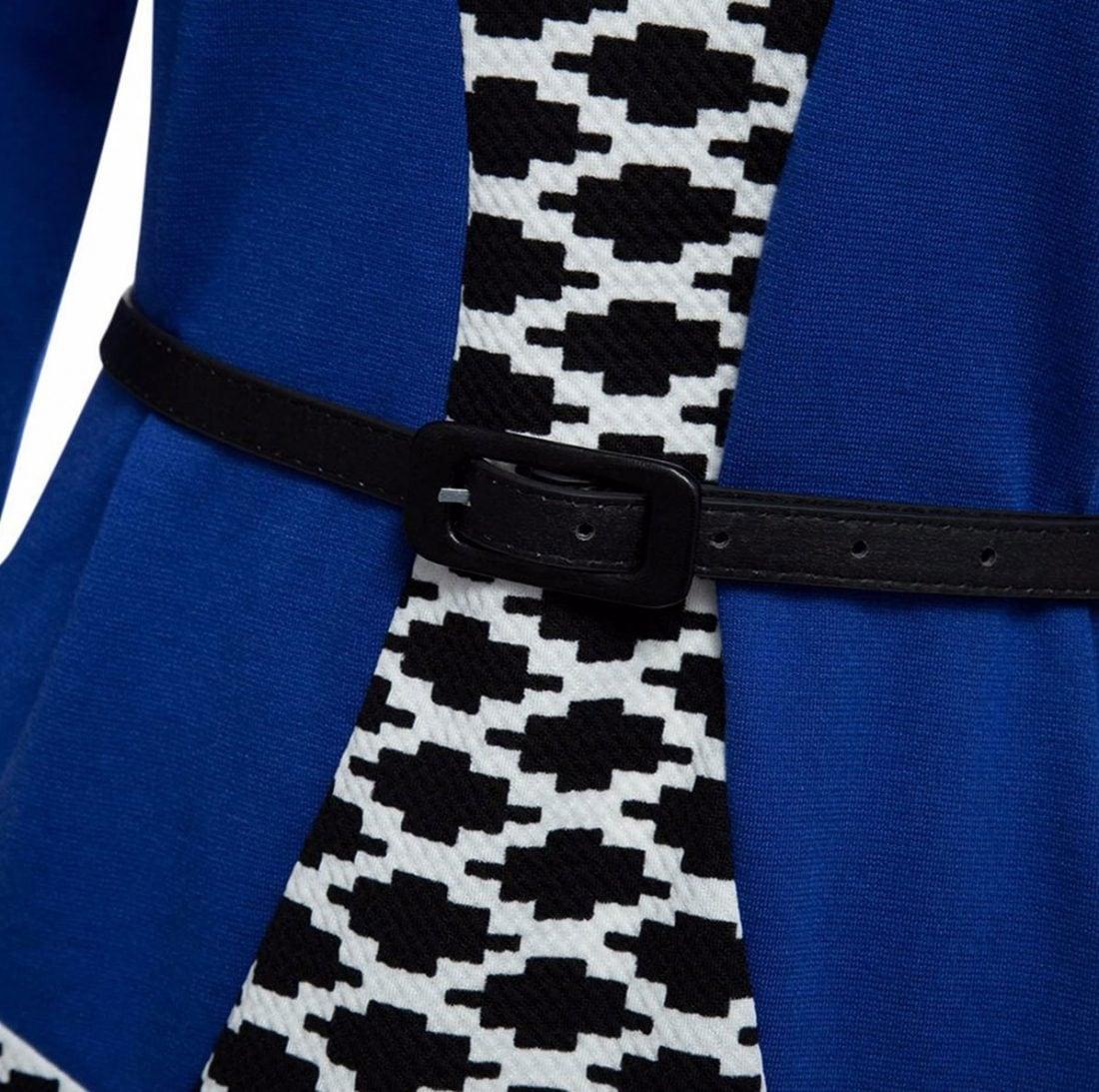 M0187 blueblack3 Office Evening Dresses maureens.com boutique