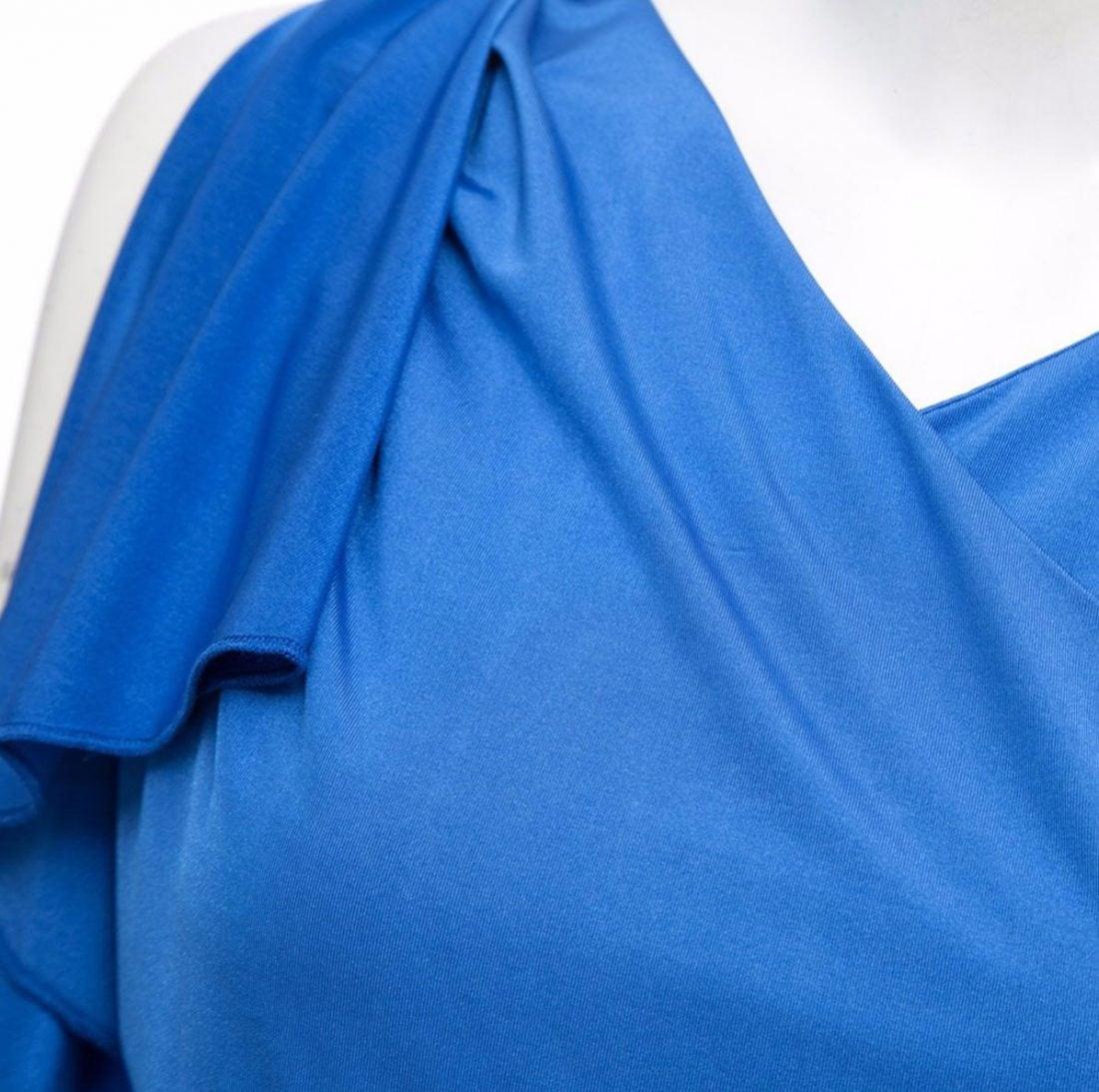 M0188 blue4 Short Sleeve Dresses maureens.com boutique