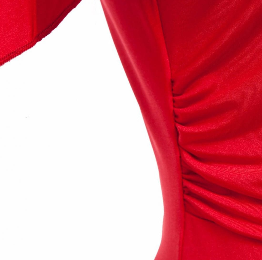 M0188 red10 Short Sleeve Dresses maureens.com boutique