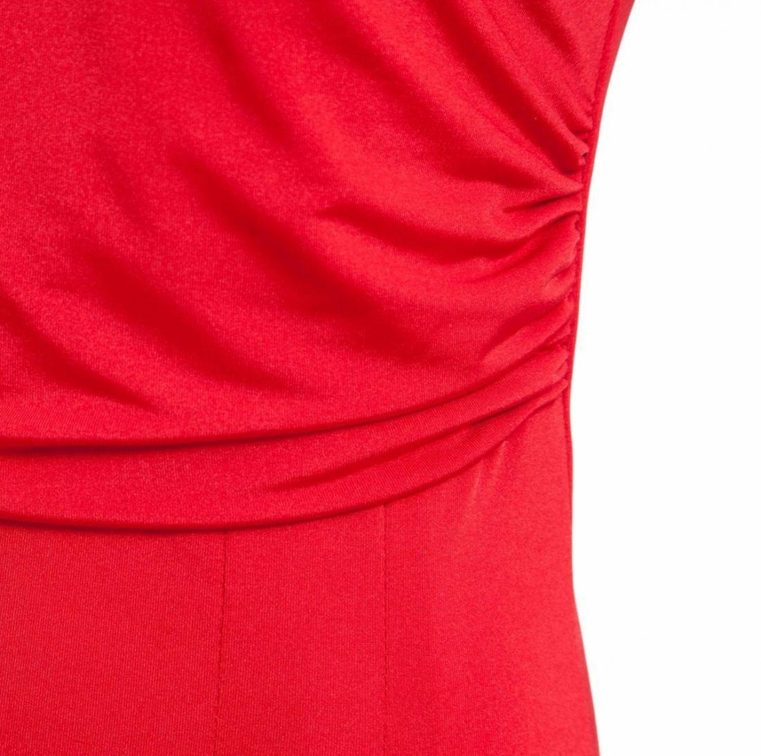 M0188 red7 Short Sleeve Dresses maureens.com boutique