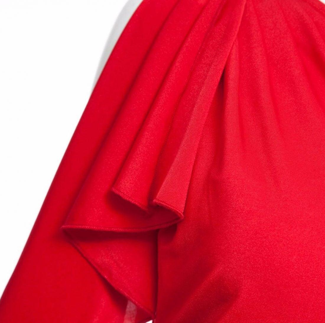 M0188 red8 Short Sleeve Dresses maureens.com boutique