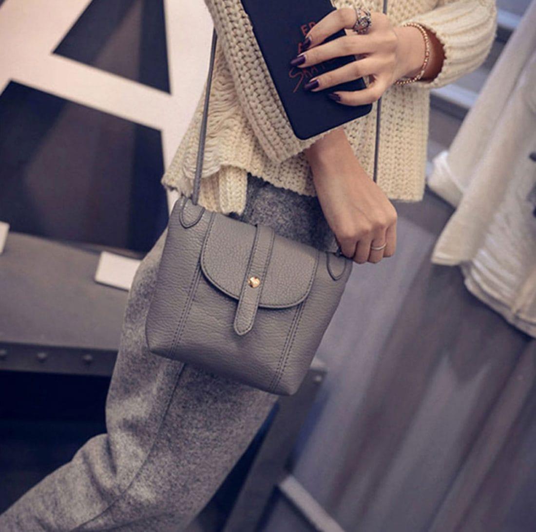 M0192 gray1 Clutches Purses Wallets maureens.com boutique