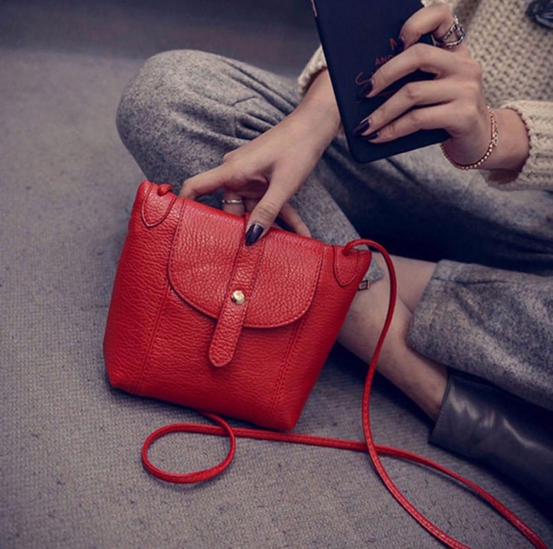 M0192 red2 Clutches Purses Wallets maureens.com boutique