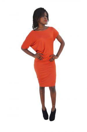 M0193 orange1 Party Dresses maureens.com boutique
