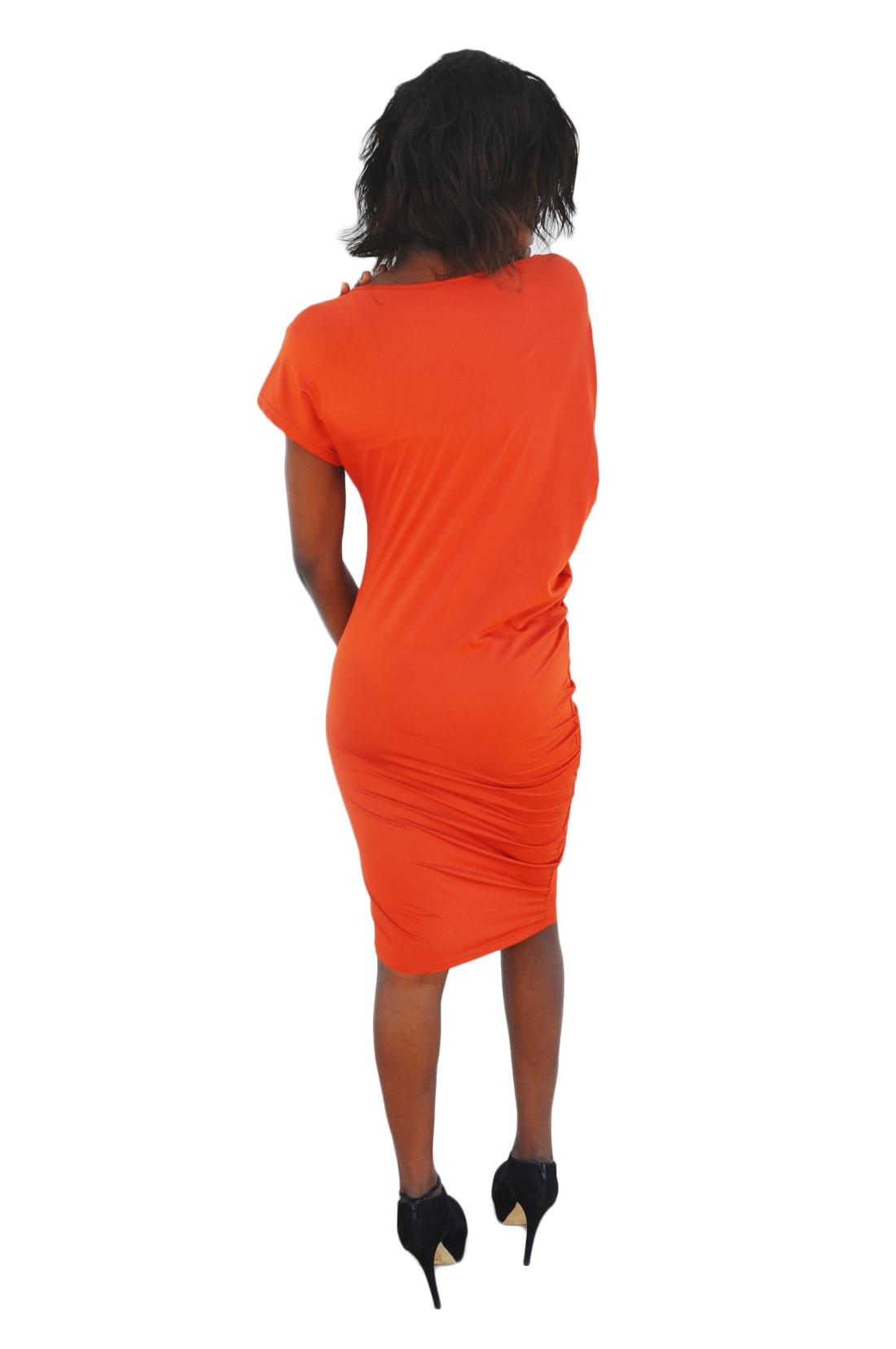 M0193 orange3 Party Dresses maureens.com boutique