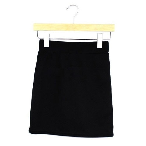 M0195 black1 Mini Skirts maureens.com boutique