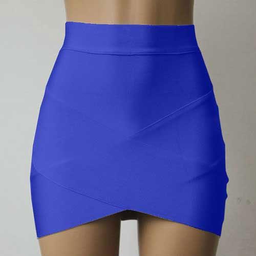 M0196 blue1 Mini Skirts maureens.com boutique