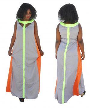 M0197 gray4 Bohemian Dresses maureens.com boutique