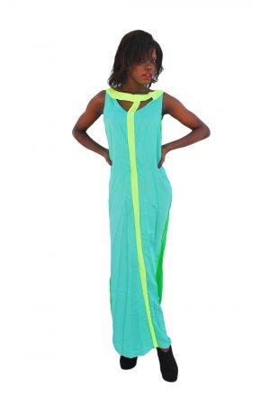 M0197 green1 Bohemian Dresses maureens.com boutique