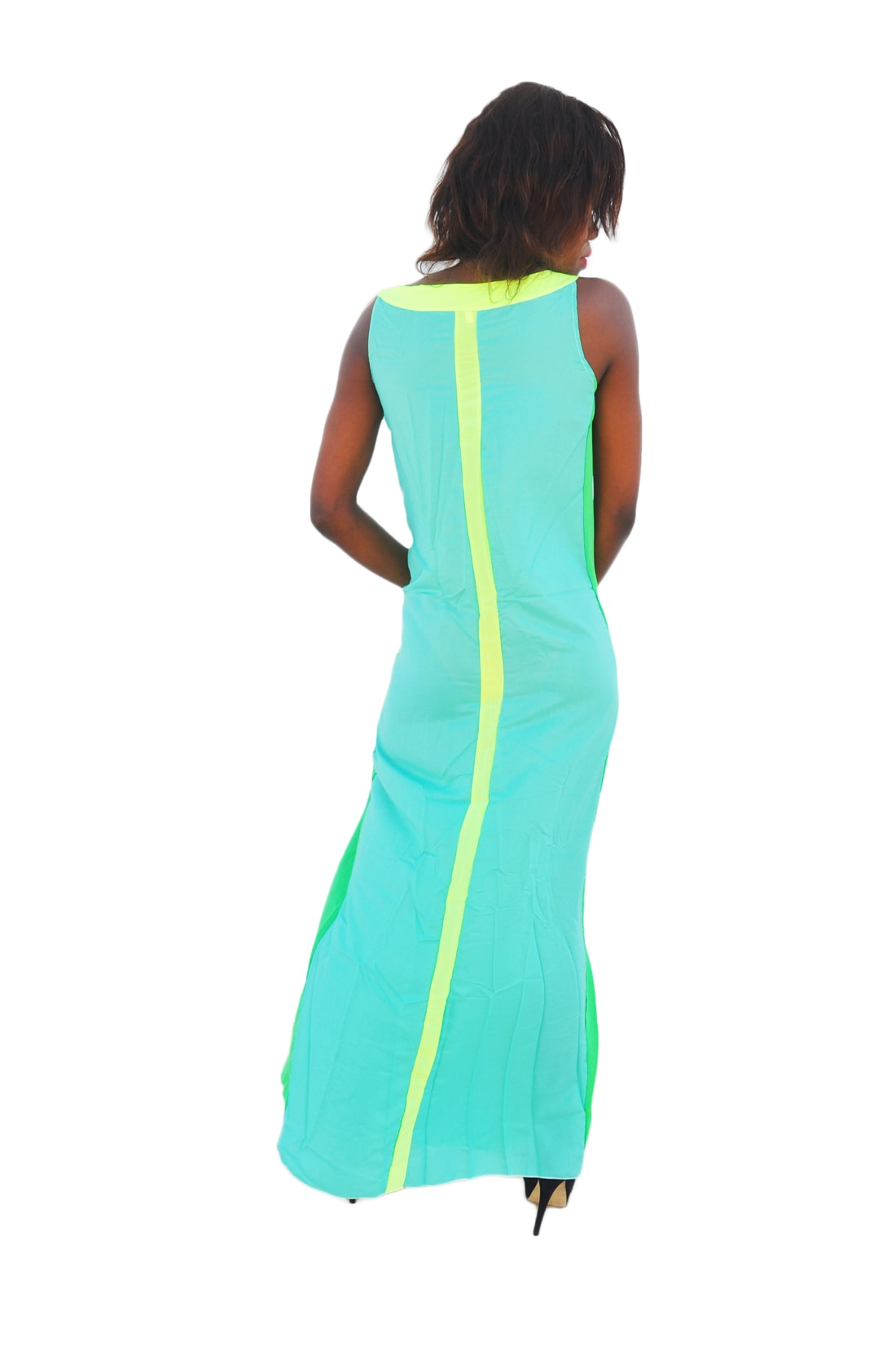 M0197 green3 Bohemian Dresses maureens.com boutique