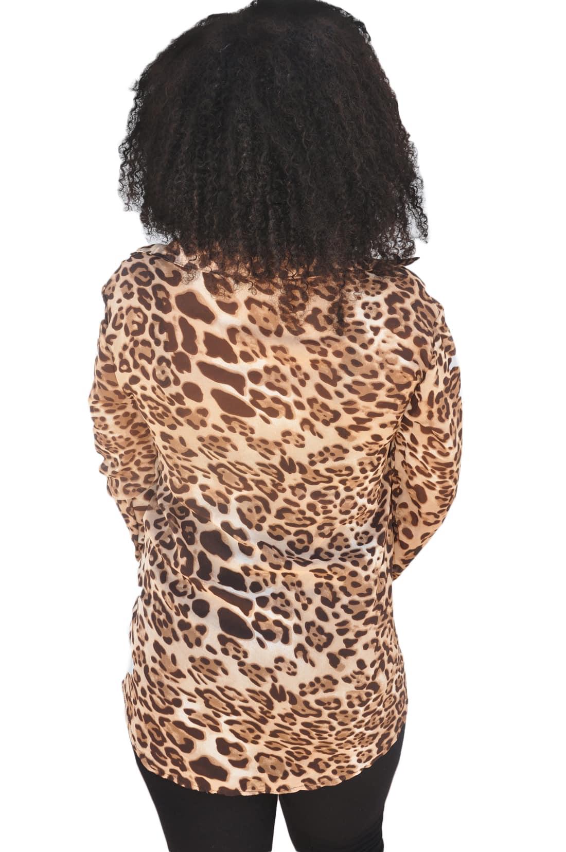 M0199 animalprint3 Blouses Tops Shirts maureens.com boutique
