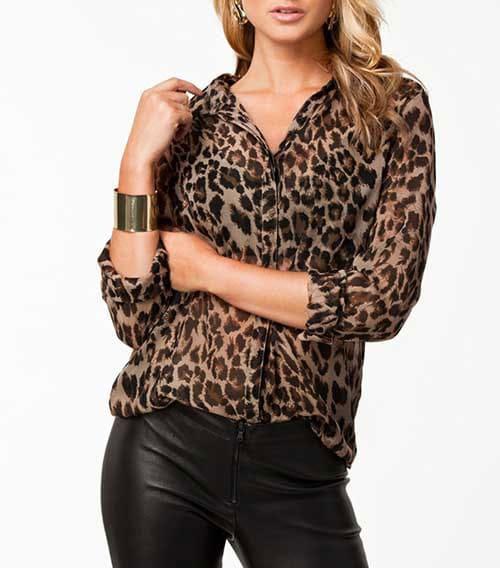 M0199 animalprint5 Blouses Tops Shirts maureens.com boutique