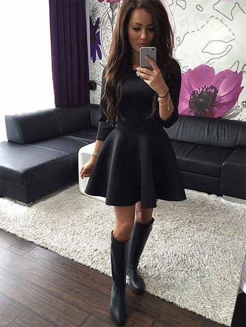 M0200 black1 Mini Dresses maureens.com boutique