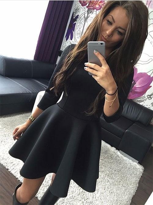 M0200 black2 Mini Dresses maureens.com boutique