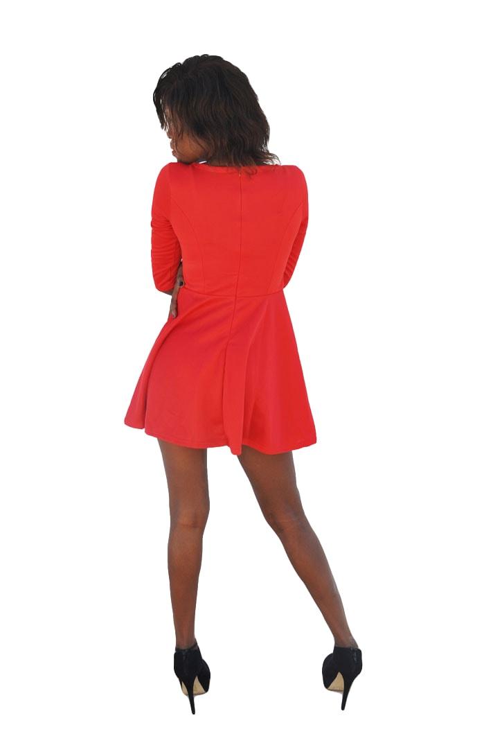 M0200 red2 Mini Dresses maureens.com boutique
