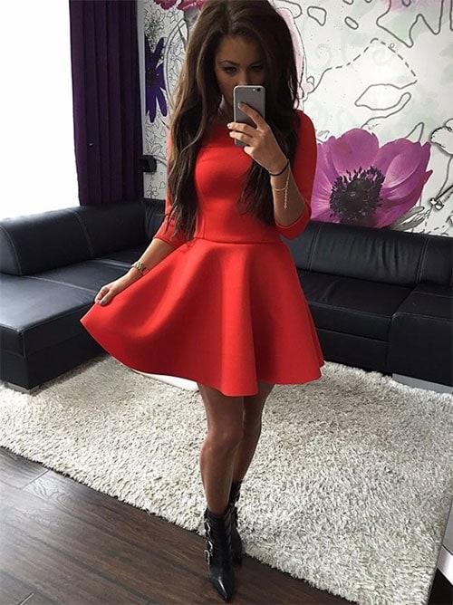 M0200 red3 Mini Dresses maureens.com boutique