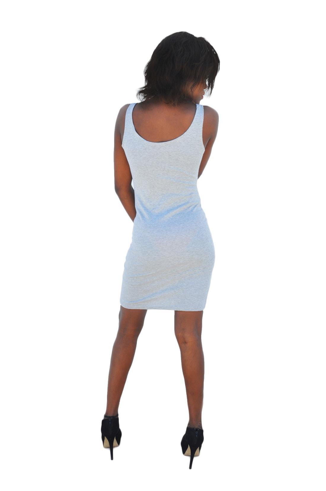 M0204 gray3 Sleeveless Dresses maureens.com boutique