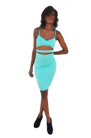 M0208 green1 Midi Medium Dresses maureens.com boutique