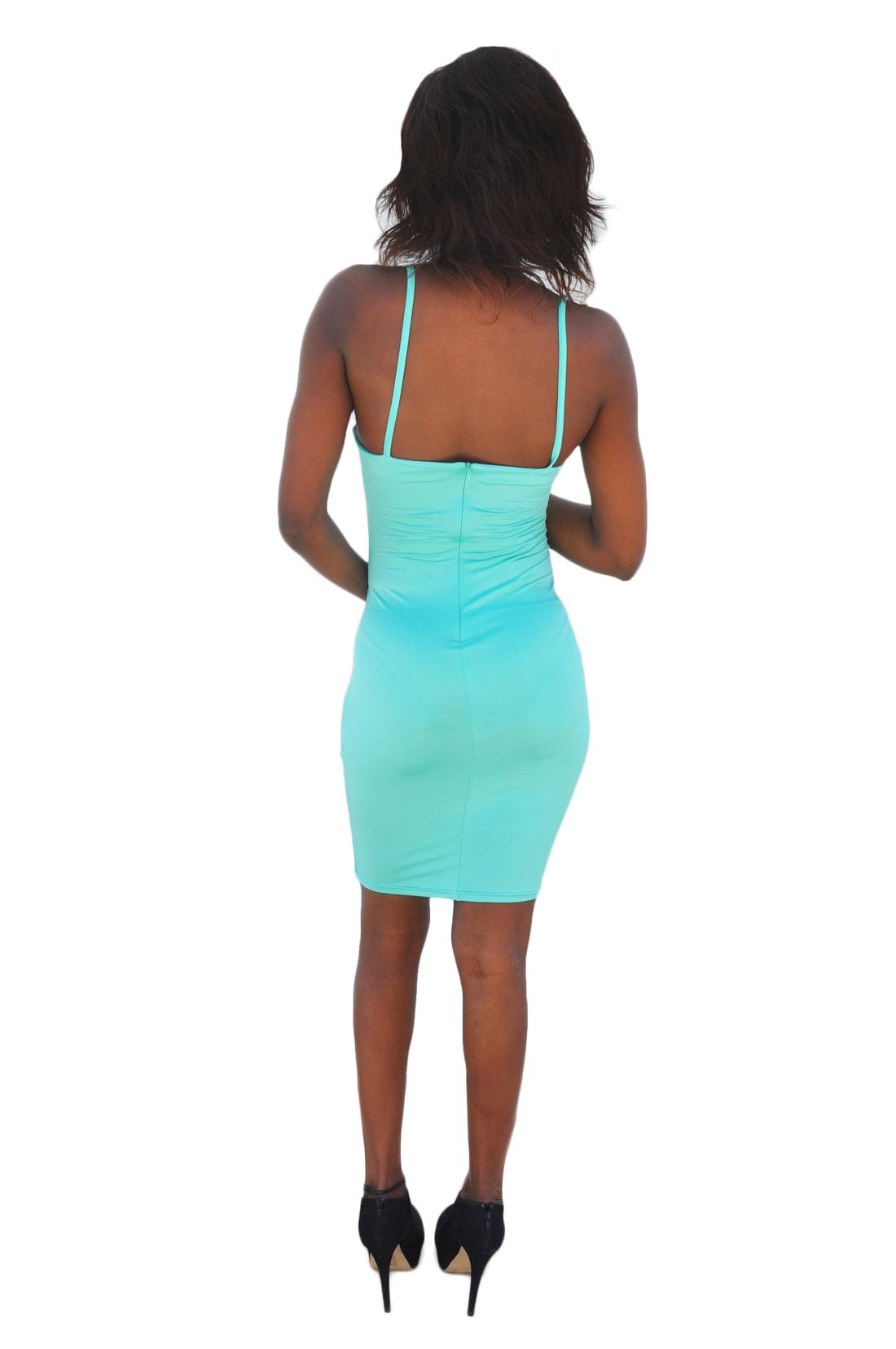 M0208 green3 Midi Medium Dresses maureens.com boutique