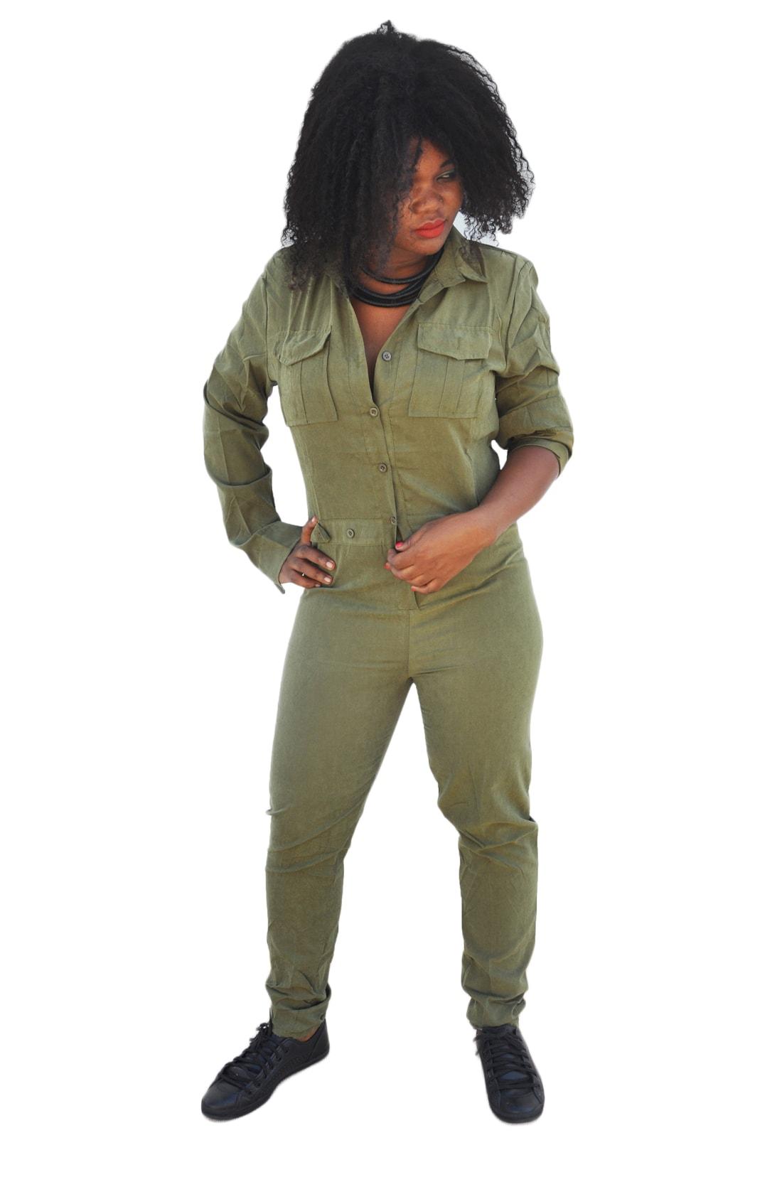 M0212 olive1 Jumpsuits Dresses maureens.com boutique