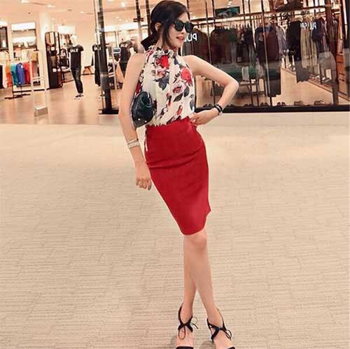 M0216 floralprint2 Blouses Tops Shirts maureens.com boutique