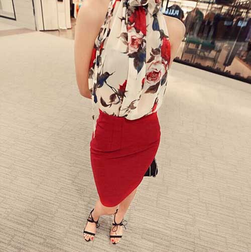 M0216 floralprint3 Blouses Tops Shirts maureens.com boutique