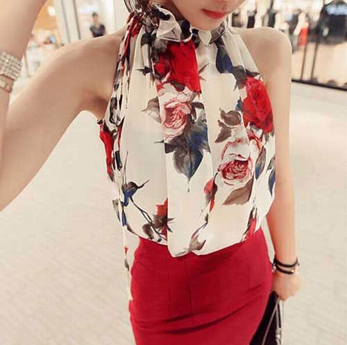 M0216 floralprint5 Blouses Tops Shirts maureens.com boutique