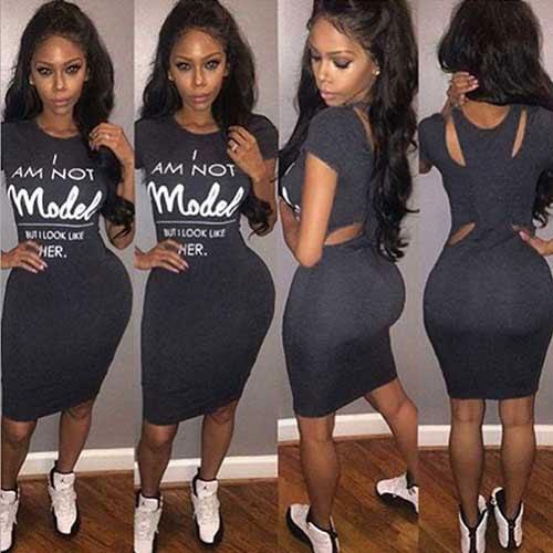 M0218 darkgray2 Bodycon Dresses maureens.com boutique