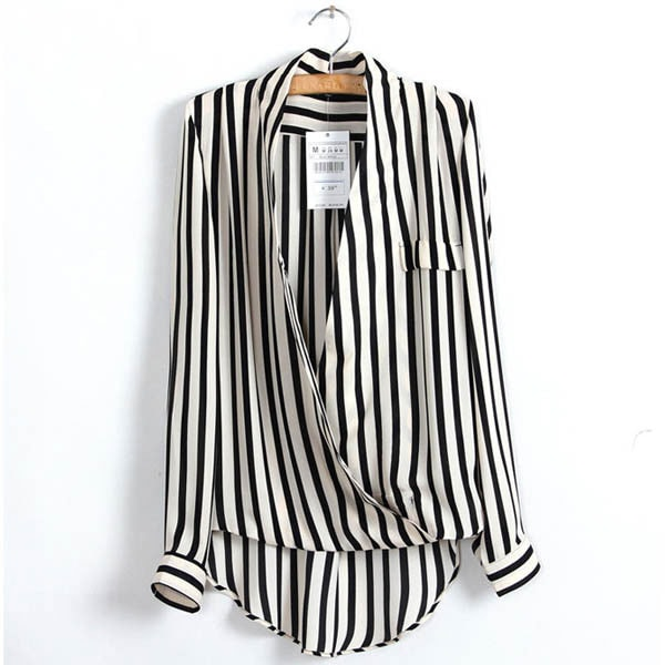 M0221 blackwhite8 Blouses Tops Shirts maureens.com boutique