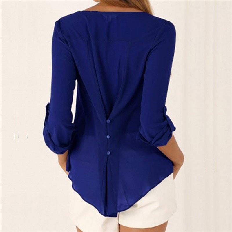 M0225 blue2 Blouses Tops Shirts maureens.com boutique